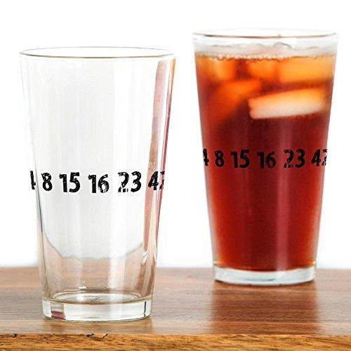 CafePress - 4 8 15 16 23 42 Lost Pint Glass - Pint Glass 16 oz Drinking Glass