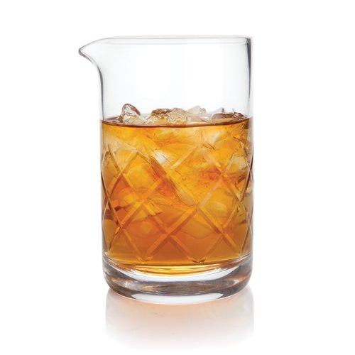 Professional Lead Free Crystal Mixing Glass by Viski – 17 oz500 ml
