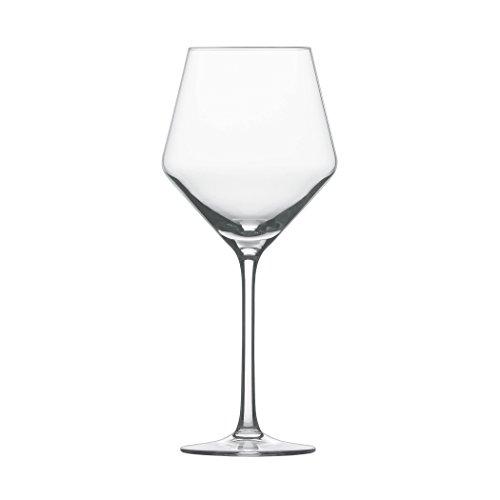 Schott Zwiesel Tritan Crystal Glass Pure Stemware Collection Beaujolais Light Red Wine Glass 157-Ounce Set of 6