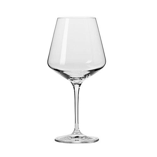 Household Essentials KROSNO Vera Red Wine Glasses Set of 6 16 oz Clear