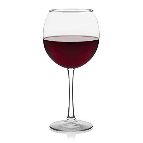 Libbey Vina Red Wine Glasses Set of 6
