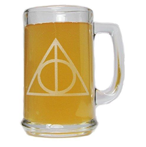 Deathly Hallows 15oz Beer Mug with Handle