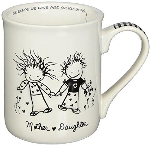 Enesco Children of the Inner Light Daughter From Mother Stoneware Gift Mug 16 oz