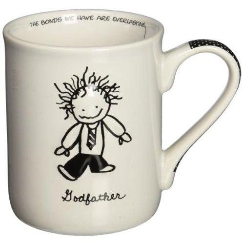 Enesco Children of the Inner Light Godfather Stoneware Gift Mug 16 oz