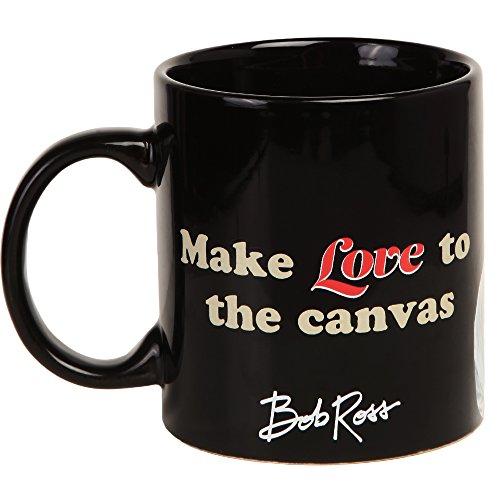 Bob Ross Make Love to the Canvas 16 oz Coffee Mug