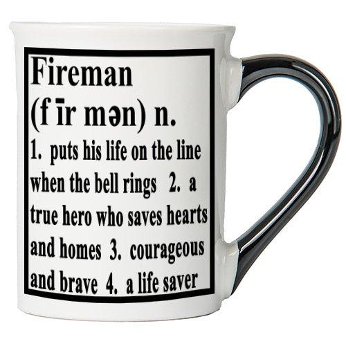 Tumbleweed Fireman Definition Stoneware Coffee Mug