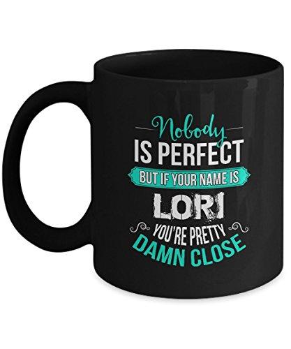 Personalized Ceramic Coffee Mug - Name is LORI - Personalized Gifts - Personalized name woman - Birthday Christmas Gifts For LORI  Women Girls - 11Oz Ceramic Tea Cup Black Funny Mug