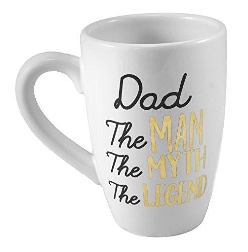 Dad the Man Decorative Coffee Mug - 16 oz