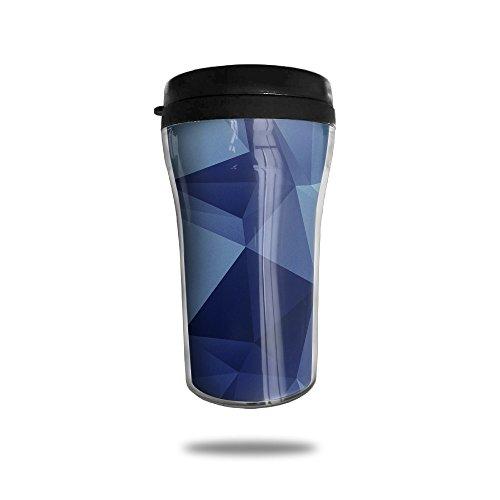 GABRIELA Blue Block Watertight Stylish Decorative Coffee Mugs Coffee Cups Tea Cups Milk Water Cup Travel Mugs