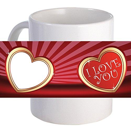 Personalized Heart Shine Photo Beautiful Decorative Coffee Mug