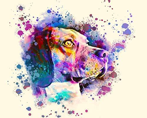 Custom Pet Portrait Cat Dog Portrait Pet Painting Watercolor painting Handmade Pet lover Personalized Gift Mug Canvas Aluminum