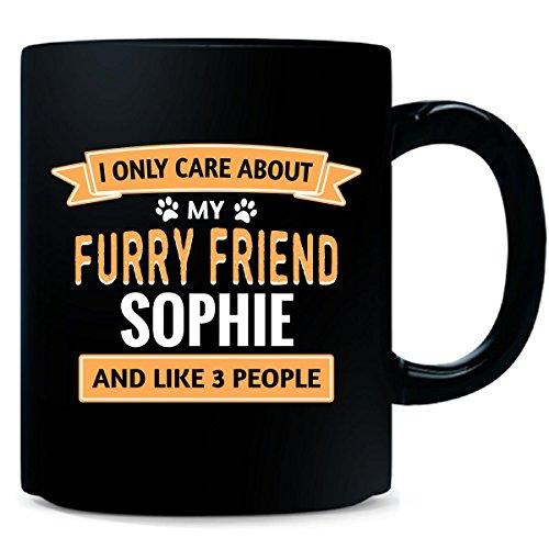 Sophie Dog Name Personalized Gift - Mug