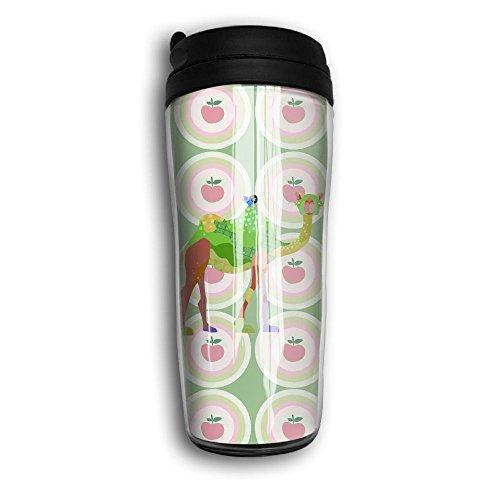 Riding Llama Cartoon Unisex Colorful Coffee Cup