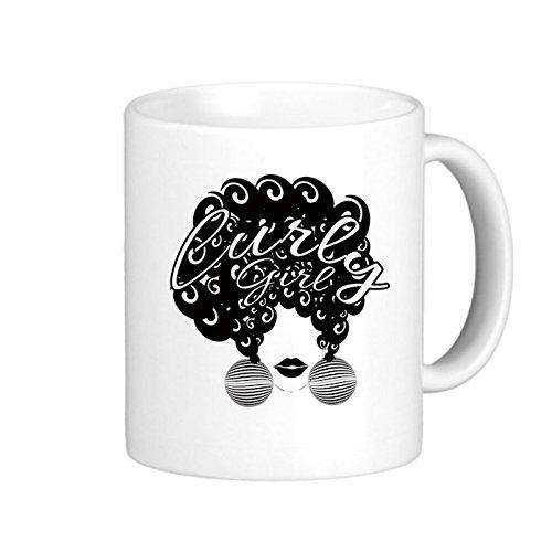 SthAmazing Curlygirl Photo Coffee Travel Mugs Coffee Cups