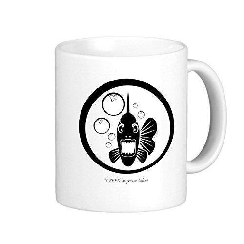 SthAmazing I Peed In Your Lake Photo Coffee Travel Mugs Cappuccino Mugs