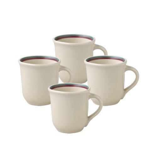 Pfaltzgraff Juniper Coffee Mug 12-Ounce Set of 4