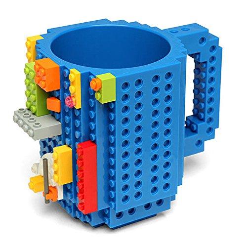 Skyzonal 2016 DIY Building-on bricks mug Lego Style coffee cup my building blocks water bottle tea cup christmas gifts