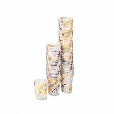 Meridan Design Paper Water Cups 5 oz Size 100Bag SLOR53