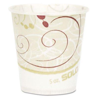 Paper Water Cups Waxed 5oz 100Bag 30 BagsCarton Sold as 1 Carton