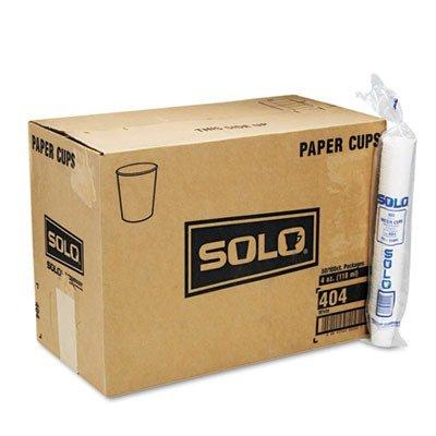 SLO404CT - Solo White Paper Water Cups