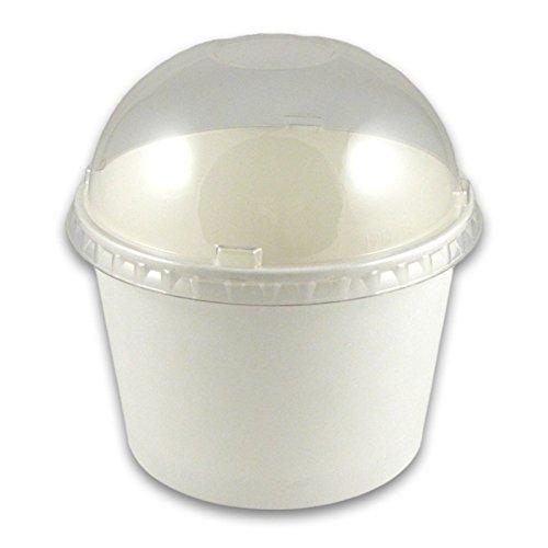 16 oz Paper Cup Dome Lids - 1000  Case