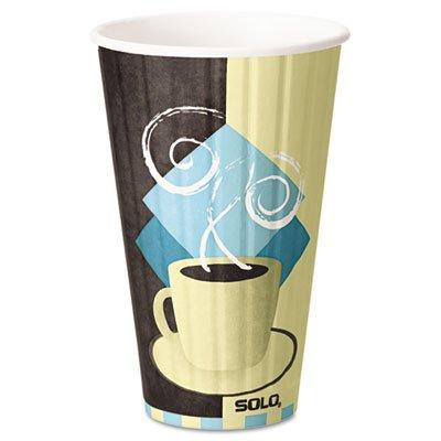 Duo Shield Hot Insulated 16oz Paper Cups 525Carton
