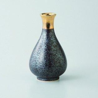 Japanese porcelain Hasami ware Set of 3 kessho gold 1go tokkuri sake bottles hsm-J39-23041
