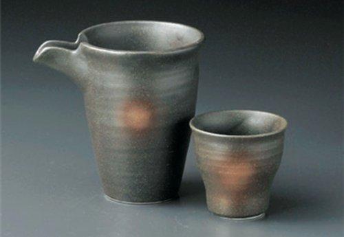 BIZEN Jiki Japanese Porcelain SAKE Set