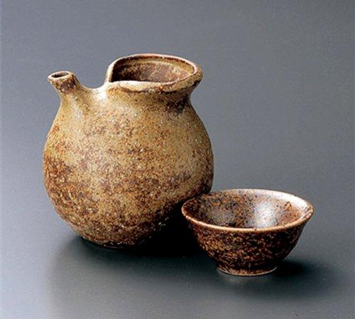 OLD-BIZEN Jiki Japanese Porcelain SAKE Set