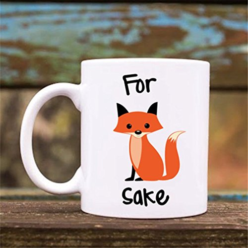 For Fox Sake Ceramic Coffee Mug