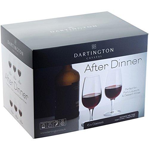 Dartington Crystal After Dinner Port Liqueurs Dessert Glasses Set of 6