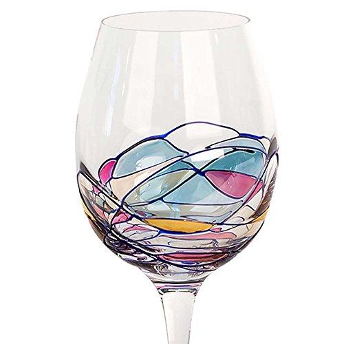 Big Milano Crystal Red Wine Glasses 22oz Set of 4