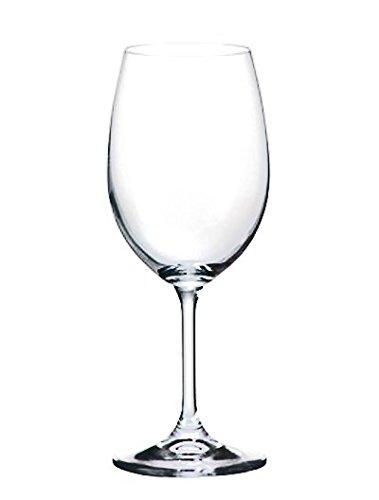 Bohemia Crystal Klara Red Wine Glasses 118 ounces Set of 6