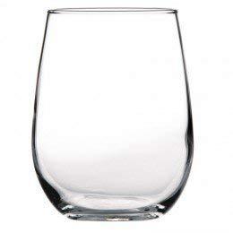 Stemless Red Wine Glass 16-34 oz 12 per case 12CA