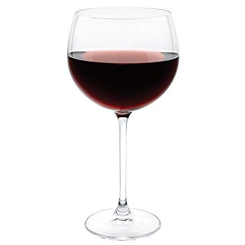 Badash K2044 Ounce Balloon Set of 4 Red Wine Stem Glasses 14 oz