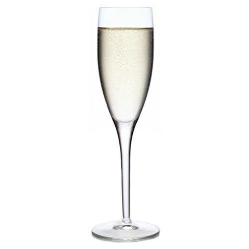 Luigi Bormioli Set of 4 Michelangelo Masterpiece 675-Oz Champagne Flute Glasses