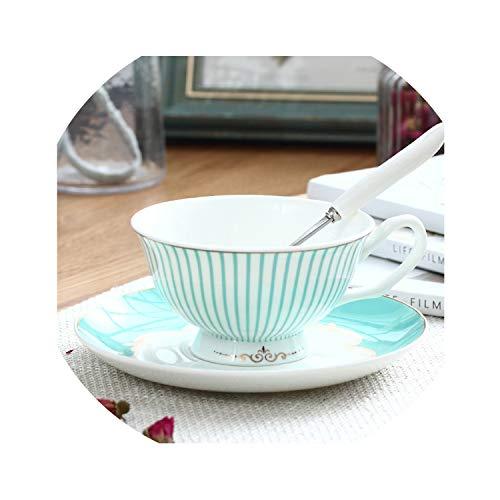 Bone China Coffee Cup Saucer Coffee Set Afternoon Teacup Red Tea Cup Bone China CupEngland101-200Ml