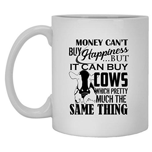 Cow Mug Coffee - White Ceramic Tea Cup 11oz Cow Mugs For You And Family White Mug 11oz
