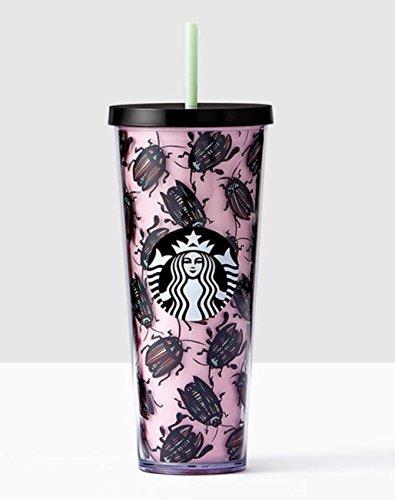Starbucks Beetles Cold Cup Tumbler Venti 24 fl oz