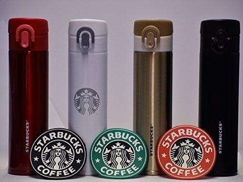 Starbucks Stainless Steel Tumbler  1992 Siren Logo Starbucks Coasters 3-Pack
