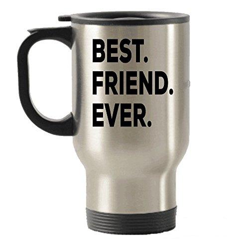 Best Friends Travel Mug - Best Friend Ever Travel Insulated Tumblers Mug - Best Friend Ever Gift - Put In Bag Basket Box Set - For Women Men Friends Mom Girls Cousins Godmother - Funny Cute Gifts