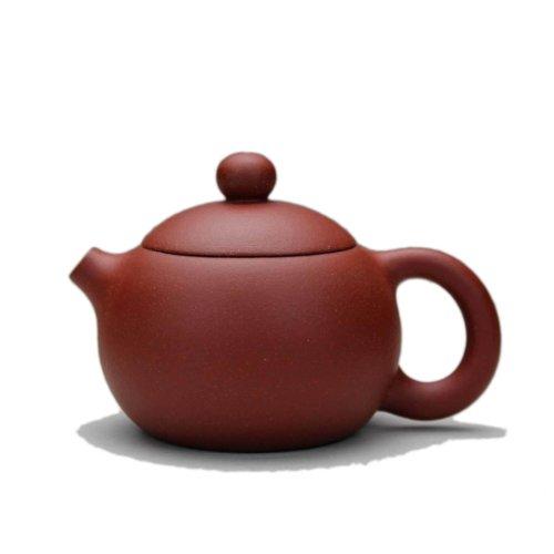 Chinese Yixing Handmade Small Size Xishi Zisha Teapot Qingshui Ni 85cc