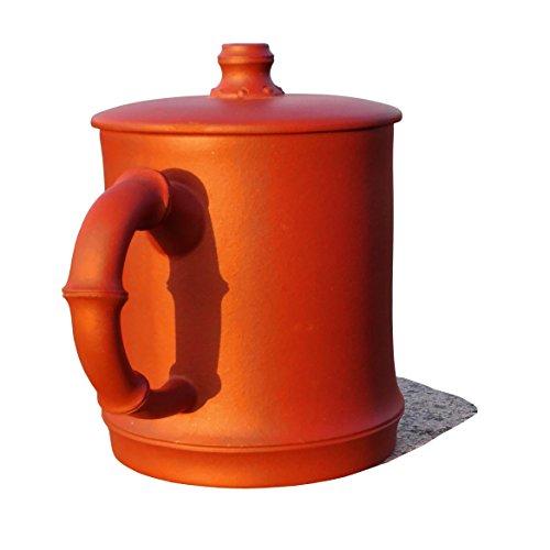Yixing Teapot Handmade Holy Bamboo Tea CupNature Red Clay200cc