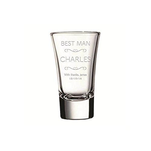 Shot glassesEngraved shot glassescustom shot glasses Best Man Shot Glasses Wedding Gift Bachelor Party Gift