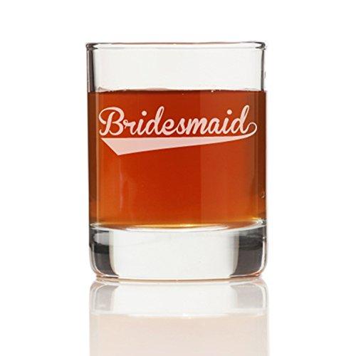 Bridesmaid Sport Shot Glass Set of 4
