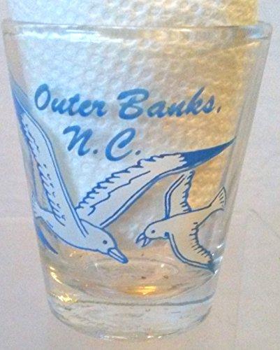 North Carolina State Shot Glass Outer Banks North Carolina Shot Glass Outer Banks Shot Glass