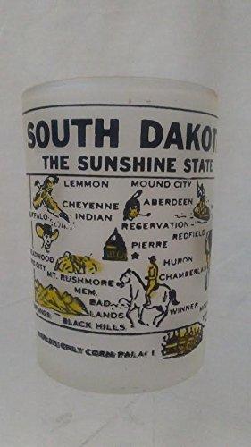 South Dakota Shot Glass South Dakota The Sunshine State Shot Glass Shot Glass