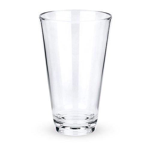 True 4448 Shatterproof Plastic Pint Glass 4 Height 4 Width 658 Length Pack of 6