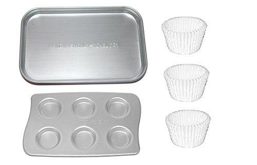 Easy-Bake Ultimate Oven Replacement Pan Cupcake Pan and Cupcake Liners