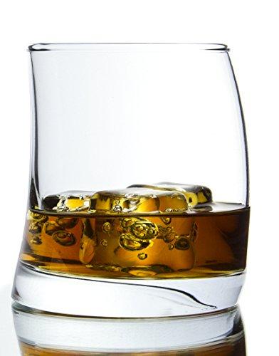 Stockholm Modern WhiskeyBeverageLiquor Glass 6 -Piece Set - 1225 Ounce